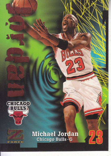 1997-98 skybox z-force michael jordan bulls