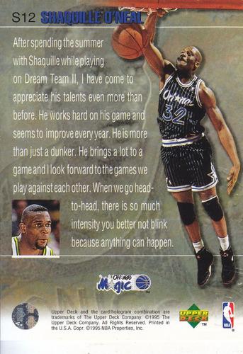 1997-98 upper deck slam dunk stars shaquille o'neal magic