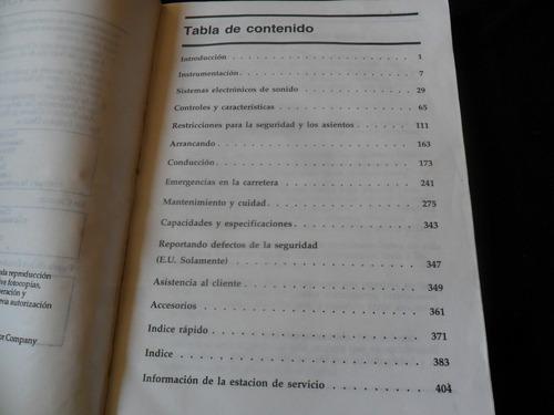 1997 ford ranger manual del propietario