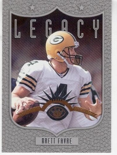 1997 leaf legacy brett favre green bay packers