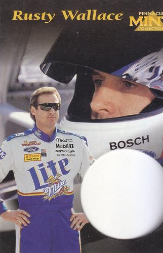 1997 pinnacle mint rusty wallace racing