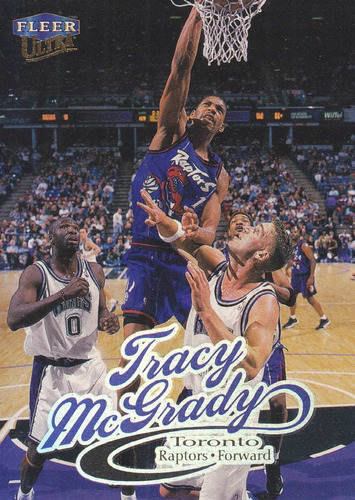 1998-99 fleer ultra tracy mcgrady raptors