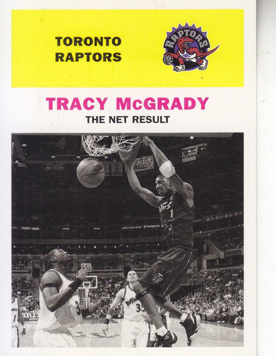 1998-99 fleer vintage 61 tracy mcgrady raptors