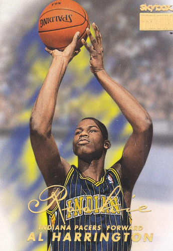 1998-99 skybox premium rookie al harrington pacers