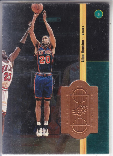 1998-99 spx finite allan houston knicks /10000