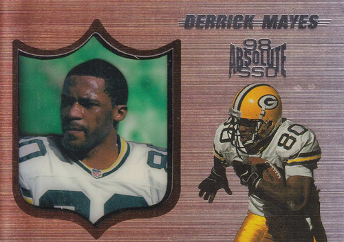 1998 absolute ssd derrick mayes wr packers