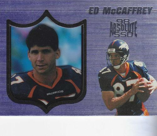 1998 absolute ssd ed mccaffrey wr broncos
