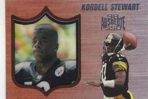 1998 absolute ssd kordell stewart qb steelers