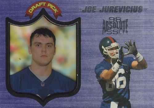 1998 absolute ssd rookie joe jurevicius wr giants