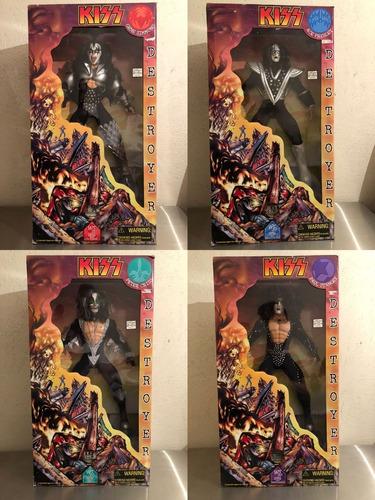 1998 art asylum kiss destroyer set completo