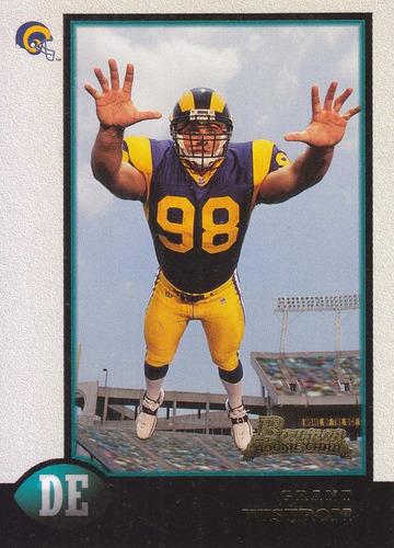 1998 bowman rookie grant wistrom de rams