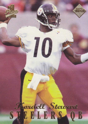 1998 edge first place thick kordell stewart qb steelers