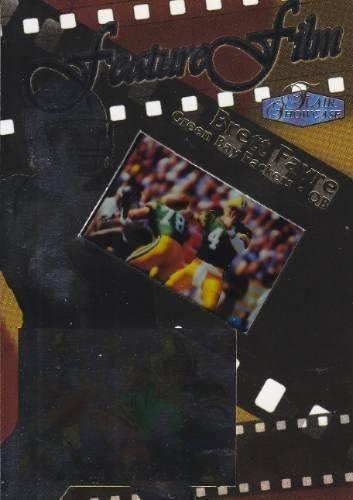 1998 flair showcase feature film brett favre packers sp