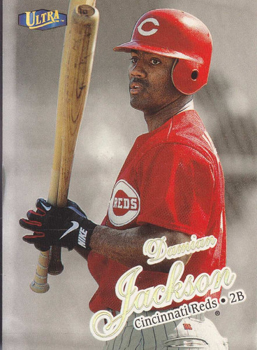 1998 fleer ultra gold medallion damian jackson 2b reds