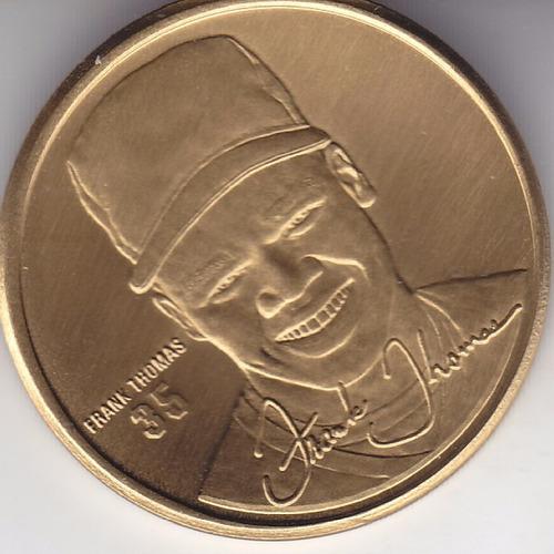 1998 n convention chicago sports coll coin frank thomas wsox