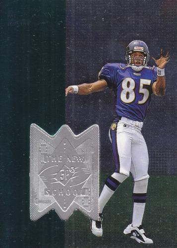1998 spx finite ns rookie pat johnson wr ravens /4000
