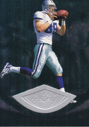1998 spx finite rookie david lafleur te cowboys /3000
