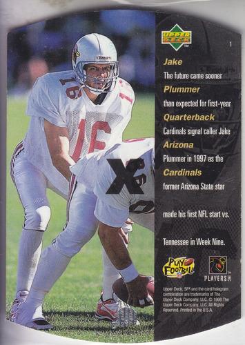 1998 spx jake plummer qb cardinals
