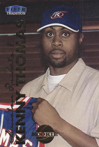 1999-00 fleer rookie kenny thomas rockets