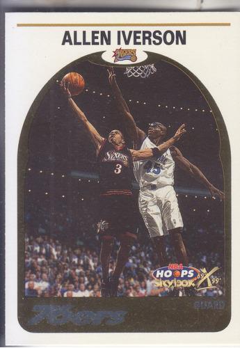 1999-00 hoops hoopla allen iverson sixers