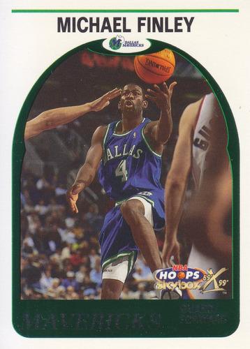 1999-00 hopps decade hoopla michael finley mavericks