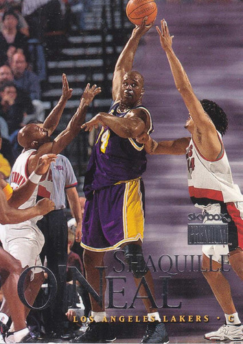 1999-00 skybox premium shaquille o'neal lakers