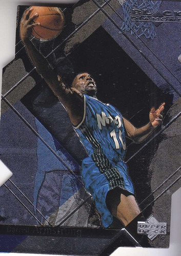 1999-00 ud black diamond cut darrell armstrong magic