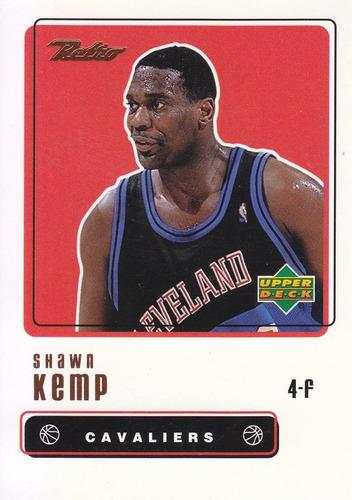 1999-00 upper deck retro shawn kemp cavs