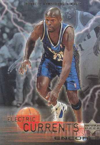 1999-00 upper encore electric currents darrell armstrong