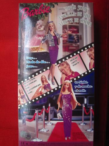 1999 barbie estrella de cine de colección matel