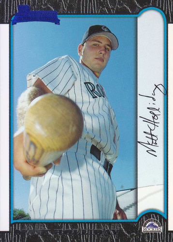 1999 bowman rookie matt holiday 3b rockies