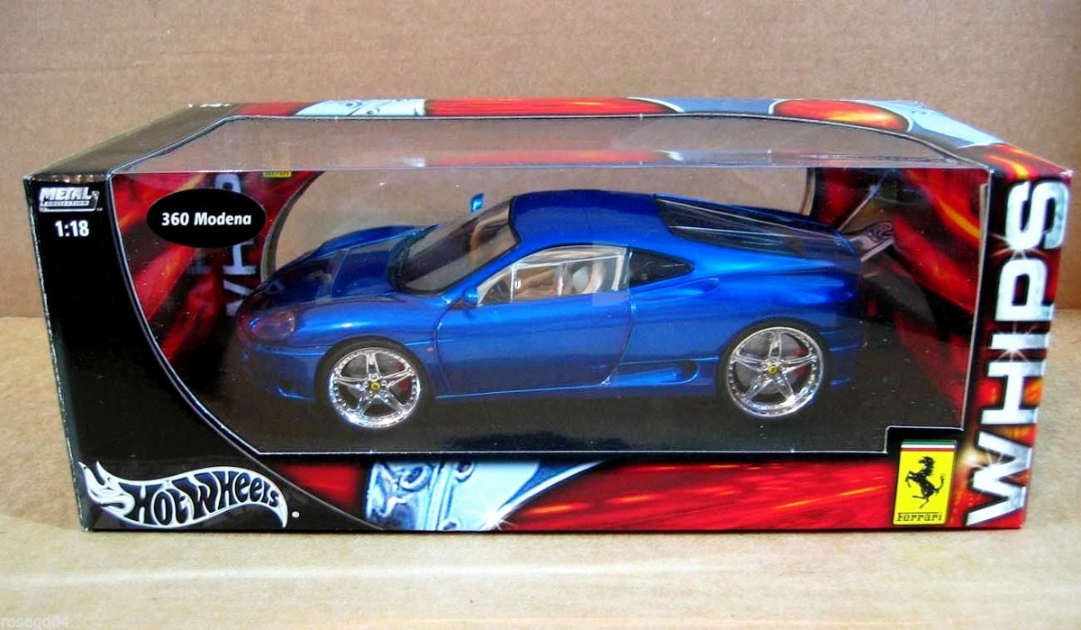 1999 Ferrari 360 Modena Whips Customized Blue 1 18