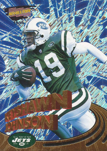 1999 invincible keyshawn johnson wr jets