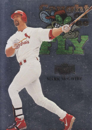 1999 metal universe fly mark mcgwire 1b cardinals