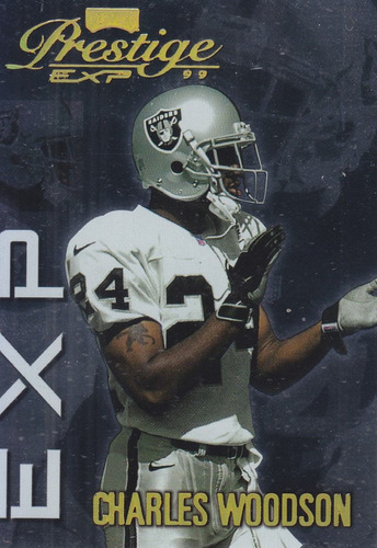 1999 prestige exp reflections gold charles woodson /1000