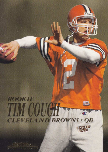 1999 skybox dominion rookie tim couch qb browns