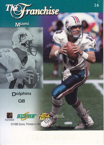 1999 sore franchise james johnson  dan marino dolphins