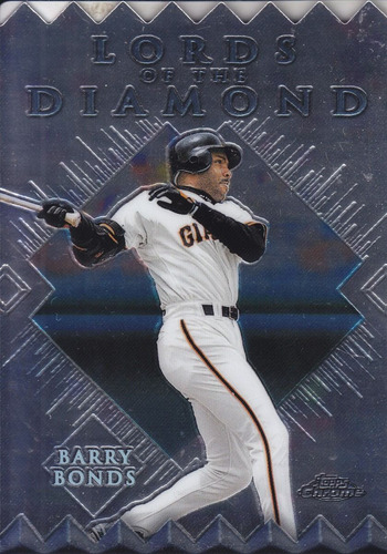 1999 topps chrome lords diamond barry bonds giants