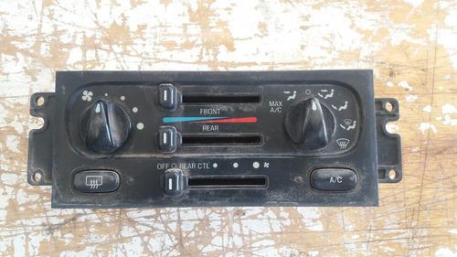 1999 windstar switch control aire acondicionado a/c
