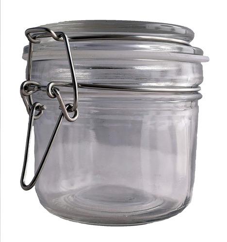 1ct. jarra de sal y especia vidrio prima reutilizable hermé