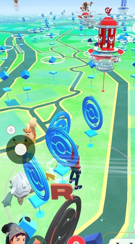1hr de farmeo pokémon go