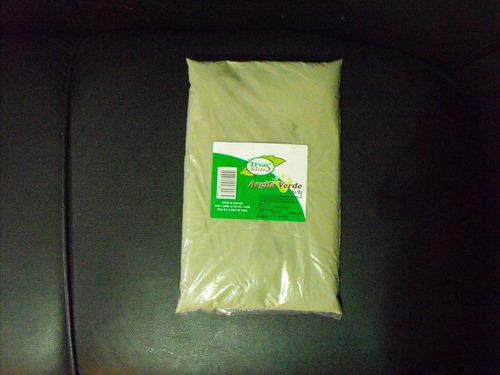 1kg de argila verde e ganha argila branca roxa preta