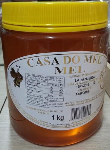 1kg mel laranjeira 1kg mel eucalipto 1 própolis 30ml