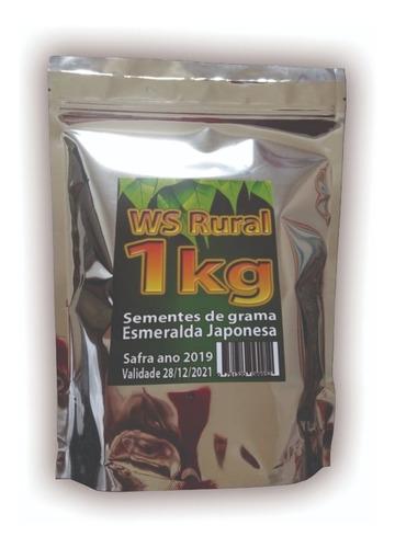 1kg sementes grama esmeralda japonesa ref-38