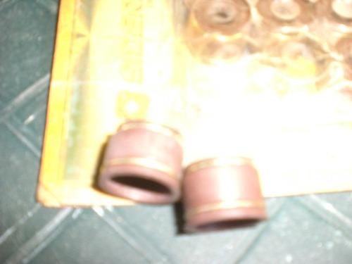 1kit gomas valvula de goma doble aro de metal/ 12 pieza/ryf