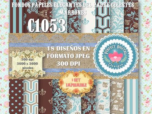 1kit imprimible x 6 sets dia padre diseño jean escoces tags