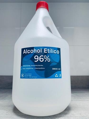 1l de alcohol etílico 96% glicerinado al 3%