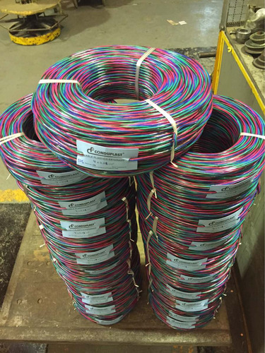 1m cable rgb led redondo tira instalacion 3528 5050 fabrica