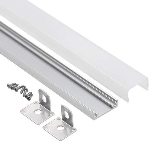 1m/3 3ft U-shape Aluminum Channel - Led Aluminum Extrusion F