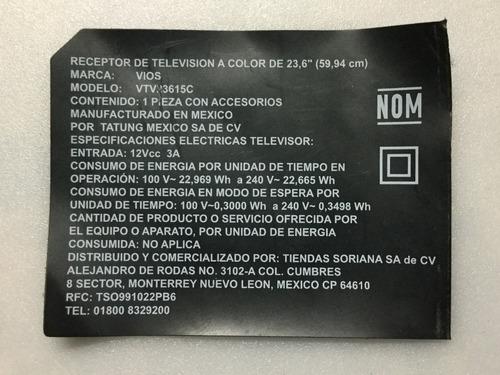 1o* b63 polaroid vios  vtv23615c   cv3393bl-c  main y cables